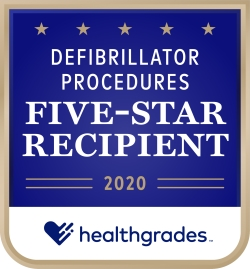Defibrillator Procedures Five-Star Recipient 2020